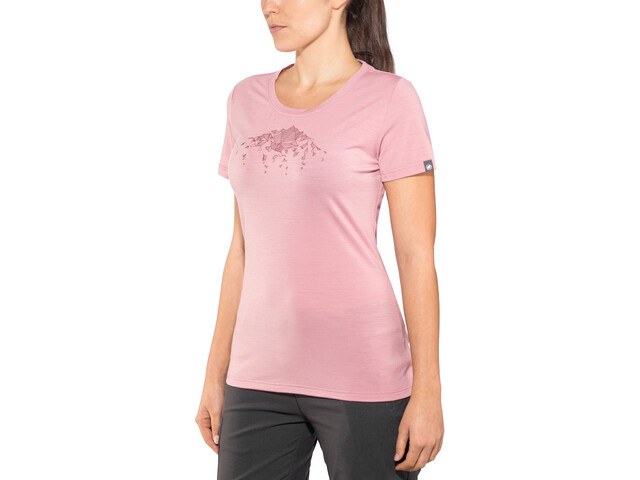 Mammut Alnasca Camiseta Mujer, rose